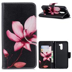 Lotus Flower Leather Wallet Case for Mi Xiaomi Pocophone F1