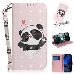 Heart Cat 3D Painted Leather Wallet Phone Case for Mi Xiaomi Pocophone F1