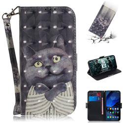 Cat Embrace 3D Painted Leather Wallet Phone Case for Mi Xiaomi Pocophone F1