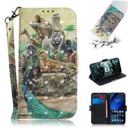 Beast Zoo 3D Painted Leather Wallet Phone Case for Mi Xiaomi Pocophone F1