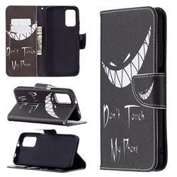 Crooked Grin Leather Wallet Case for Mi Xiaomi Poco M3