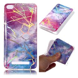 Dream Sky Marble Pattern Bright Color Laser Soft TPU Case for Xiaomi Redmi 4A