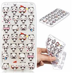 Mini Panda Clear Varnish Soft Phone Back Cover for Xiaomi Redmi 4A