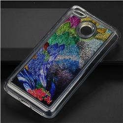Phoenix Glassy Glitter Quicksand Dynamic Liquid Soft Phone Case for Xiaomi Redmi 4 (4X)