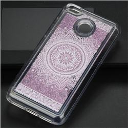 Mandala Glassy Glitter Quicksand Dynamic Liquid Soft Phone Case for Xiaomi Redmi 4 (4X)