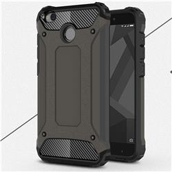 King Kong Armor Premium Shockproof Dual Layer Rugged Hard Cover for Xiaomi Redmi 4 (4X) - Bronze