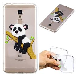 Tree Panda Super Clear Soft TPU Back Cover for Mi Xiaomi Redmi 5