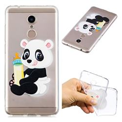 Baby Panda Super Clear Soft TPU Back Cover for Mi Xiaomi Redmi 5