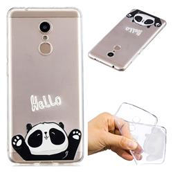 Hello Panda Super Clear Soft TPU Back Cover for Mi Xiaomi Redmi 5