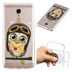 Envelope Owl Super Clear Soft TPU Back Cover for Mi Xiaomi Redmi 5
