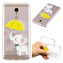 Umbrella Elephant Super Clear Soft TPU Back Cover for Mi Xiaomi Redmi 5