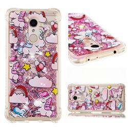 Angel Pony Dynamic Liquid Glitter Sand Quicksand Star TPU Case for Mi Xiaomi Redmi 5
