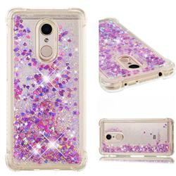 Dynamic Liquid Glitter Sand Quicksand Star TPU Case for Mi Xiaomi Redmi 5 - Rose