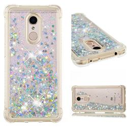 Dynamic Liquid Glitter Sand Quicksand Star TPU Case for Mi Xiaomi Redmi 5 - Silver