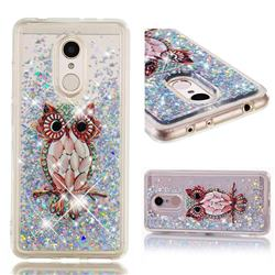 Seashell Owl Dynamic Liquid Glitter Quicksand Soft TPU Case for Mi Xiaomi Redmi 5