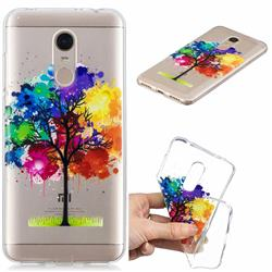 Oil Painting Tree Clear Varnish Soft Phone Back Cover for Mi Xiaomi Redmi 5