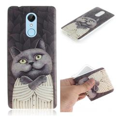 Cat Embrace IMD Soft TPU Cell Phone Back Cover for Mi Xiaomi Redmi 5