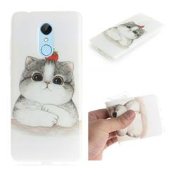Cute Tomato Cat IMD Soft TPU Cell Phone Back Cover for Mi Xiaomi Redmi 5