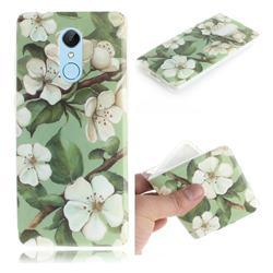 Watercolor Flower IMD Soft TPU Cell Phone Back Cover for Mi Xiaomi Redmi 5