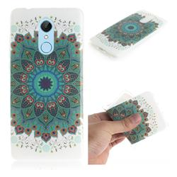 Peacock Mandala IMD Soft TPU Cell Phone Back Cover for Mi Xiaomi Redmi 5