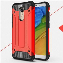 King Kong Armor Premium Shockproof Dual Layer Rugged Hard Cover for Mi Xiaomi Redmi 5 - Big Red