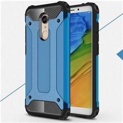 King Kong Armor Premium Shockproof Dual Layer Rugged Hard Cover for Mi Xiaomi Redmi 5 - Sky Blue