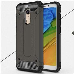 King Kong Armor Premium Shockproof Dual Layer Rugged Hard Cover for Mi Xiaomi Redmi 5 - Bronze