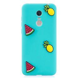 Watermelon Pineapple Soft 3D Silicone Case for Mi Xiaomi Redmi 5