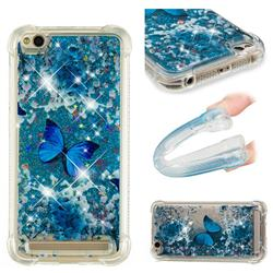 Flower Butterfly Dynamic Liquid Glitter Sand Quicksand Star TPU Case for Xiaomi Redmi 5A