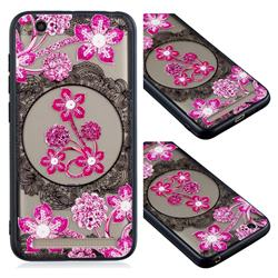 Daffodil Lace Diamond Flower Soft TPU Back Cover for Xiaomi Redmi 5A