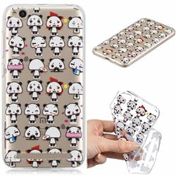 Mini Panda Clear Varnish Soft Phone Back Cover for Xiaomi Redmi 5A