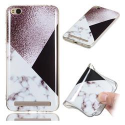 Black white Grey Soft TPU Marble Pattern Phone Case for Xiaomi Redmi 5A