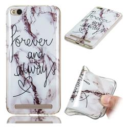 Forever Soft TPU Marble Pattern Phone Case for Xiaomi Redmi 5A