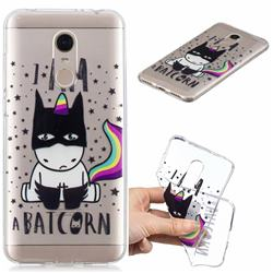 Batman Clear Varnish Soft Phone Back Cover for Mi Xiaomi Redmi 5 Plus