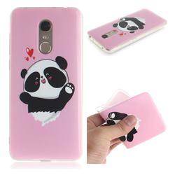 Heart Cat IMD Soft TPU Cell Phone Back Cover for Mi Xiaomi Redmi 5 Plus