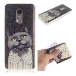 Cat Embrace IMD Soft TPU Cell Phone Back Cover for Mi Xiaomi Redmi 5 Plus