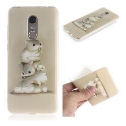 Three Squirrels IMD Soft TPU Cell Phone Back Cover for Mi Xiaomi Redmi 5 Plus