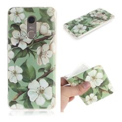 Watercolor Flower IMD Soft TPU Cell Phone Back Cover for Mi Xiaomi Redmi 5 Plus