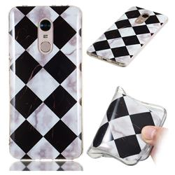 Black and White Matching Soft TPU Marble Pattern Phone Case for Mi Xiaomi Redmi 5 Plus