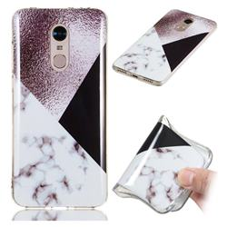 Black white Grey Soft TPU Marble Pattern Phone Case for Mi Xiaomi Redmi 5 Plus
