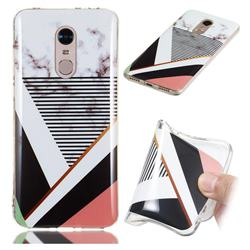 Pinstripe Soft TPU Marble Pattern Phone Case for Mi Xiaomi Redmi 5 Plus