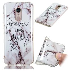 Forever Soft TPU Marble Pattern Phone Case for Mi Xiaomi Redmi 5 Plus