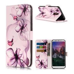 Dream Lotus Flower PU Leather Wallet Phone Case for Mi Xiaomi Redmi 5 Plus