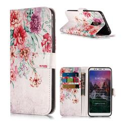 Vintage Rose Flower PU Leather Wallet Phone Case for Mi Xiaomi Redmi 5 Plus