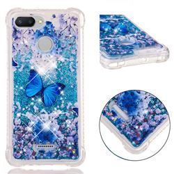 Flower Butterfly Dynamic Liquid Glitter Sand Quicksand Star TPU Case for Mi Xiaomi Redmi 6