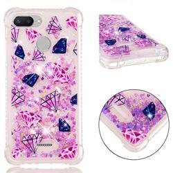 Diamond Dynamic Liquid Glitter Sand Quicksand Star TPU Case for Mi Xiaomi Redmi 6
