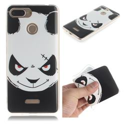 Angry Bear IMD Soft TPU Cell Phone Back Cover for Mi Xiaomi Redmi 6