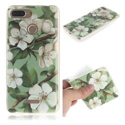 Watercolor Flower IMD Soft TPU Cell Phone Back Cover for Mi Xiaomi Redmi 6