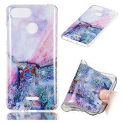 Purple Amber Soft TPU Marble Pattern Phone Case for Mi Xiaomi Redmi 6