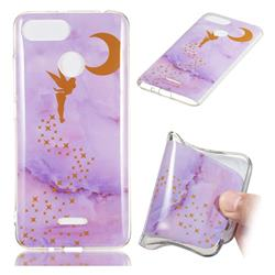 Elf Purple Soft TPU Marble Pattern Phone Case for Mi Xiaomi Redmi 6